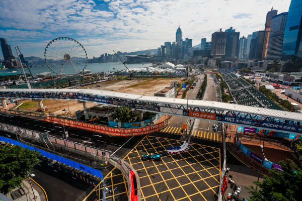 2017/2018 FIA Formula E Championship. Round 1 - Hong Kong, China. Saturday 02 December 2017. Luca Filippi (ITA), NIO Formula E Team, NextEV NIO Sport 003. Photo: Alastair Staley/LAT/Formula E ref: Digital Image _ALS5600