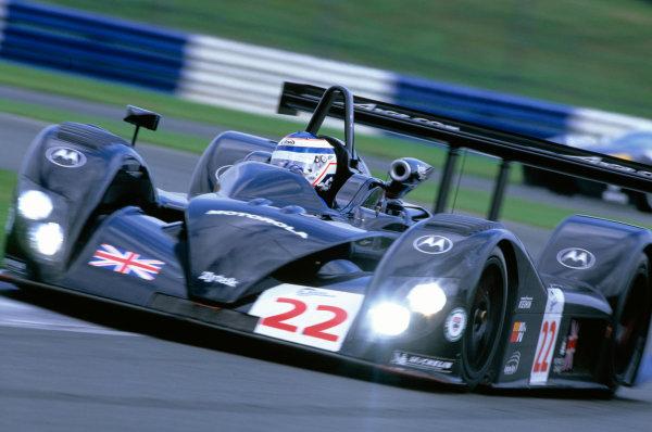 2004 Le Mans Endurance SeriesSilverstone 1000 KilometersSilverstone, England. 12th - 14th August 2004Robbie Kerr (Zytek 04S). Action.World Copyright: Glenn Dunbar/LAT Photographicref: 35mm Transparency A05
