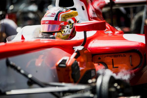 2017 FIA Formula 2 Round 4. Baku City Circuit, Baku, Azerbaijan. Friday 23 June 2017. Charles Leclerc (MCO, PREMA Racing)  Photo: Zak Mauger/FIA Formula 2. ref: Digital Image _56I6768
