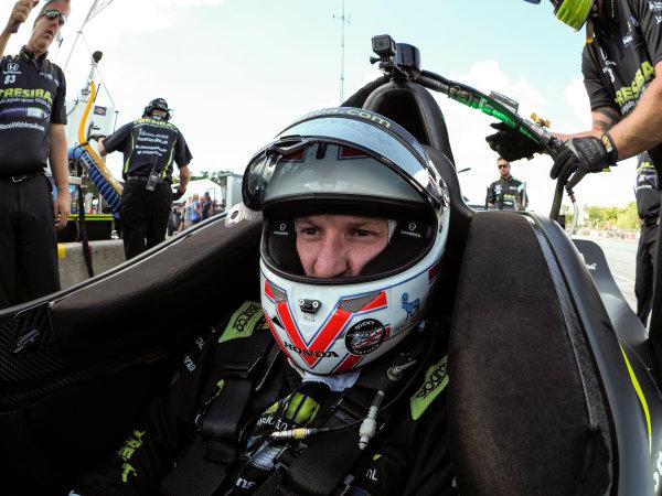 Verizon IndyCar Series Kohler Grand Prix Road America, Elkhart Lake, WI USA Friday 23 June 2017 Charlie Kimball, Chip Ganassi Racing Teams Honda World Copyright: Michael L. Levitt LAT Images