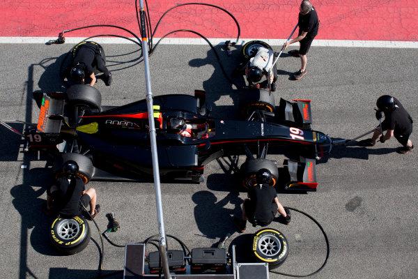 Circuit de Barcelona Catalunya, Barcelona, Spain. Tuesday 14 March 2017. Johnny Cecotto (VEN, Rapax). Action.  Photo: Alastair Staley/FIA Formula 2 ref: Digital Image 580A0832
