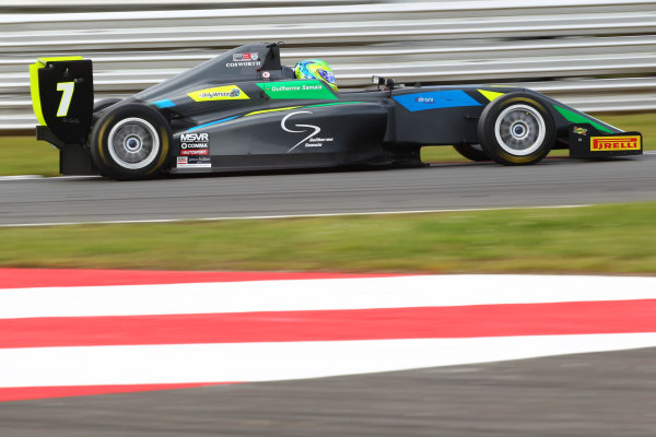 2017 BRDC British Formula 3 Championship, Snetterton, 27th-28th May 2017, Guilherme Samaia (BRA) Double R Racing BRDC F3 World copyright. JEP/LAT Images