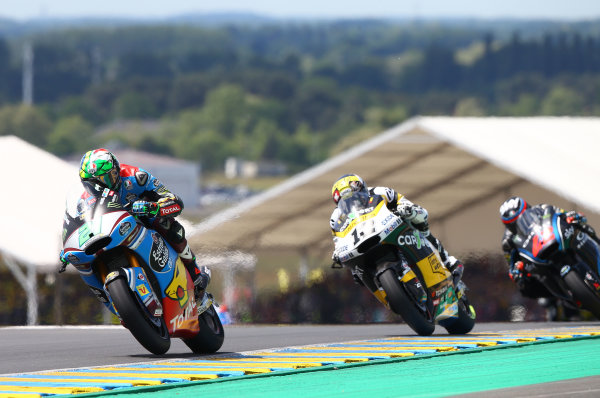 2017 Moto2 Championship - Round 5 Le Mans, France Sunday 21 May 2017 Franco Morbidelli, Marc VDS World Copyright: Gold & Goose Photography/LAT Images ref: Digital Image 671763