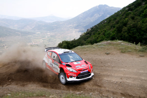 Round 07 Acropolis Rally. 16th - 19th June 2011.Evgeny Novikov, Ford WRC, Action.Worldwide Copyright: McKlein/LAT
