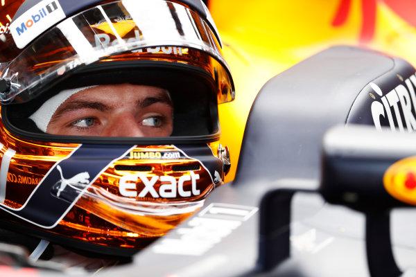 Spa Francorchamps, Belgium.  Saturday 26 August 2017. Max Verstappen, Red Bull. World Copyright: Glenn Dunbar/LAT Images  ref: Digital Image _31I5896