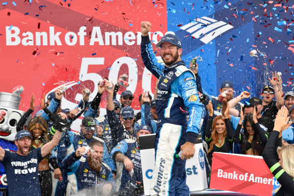 Monster Energy NASCAR Cup Series Bank of America 500 Charlotte Motor Speedway, Concord, NC Sunday 8 October 2017 Martin Truex Jr, Furniture Row Racing, Auto-Owners Insurance Toyota Camry World Copyright: Rusty Jarrett LAT Images