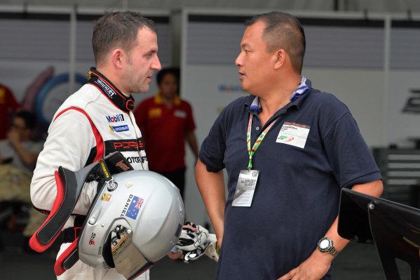 Daniel Bilski (HKG) Daniel Bilski. Porsche Carrera Cup Asia, Sepang, Malaysia, 28-30 March 2014.