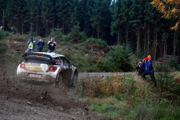 2013 FIA World Rally Championship Round 13-Wales Rally GB 14-17 November 2013 Daniel Sordo, Citroen WRC, Action.  Worldwide Copyright: McKlein/LAT
