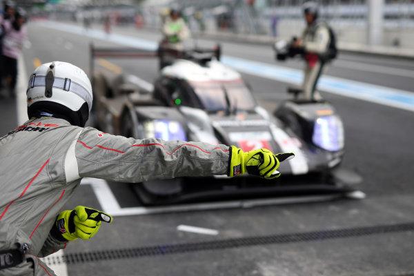 2016 FIA World Endurance Championship, Mexico City, Autodromo Hermanos Rodriguez, 1st-3rd September 2016, Romain Dumas / Neel Jani / Marc Lieb  - Porsche 919 Hybrid World Copyright. Jakob Ebrey/LAT Photographic