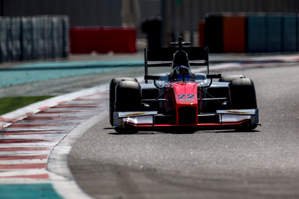 2016 GP2 Series Test 3 Yas Marina Circuit, Abu Dhabi, United Arab Emirates. Wednesday 30 November 2016. Sergio Sette Camara (BRA, MP Motorsport)  Photo: Zak Mauger/GP2 Series Media Service. ref: Digital Image _L0U3198