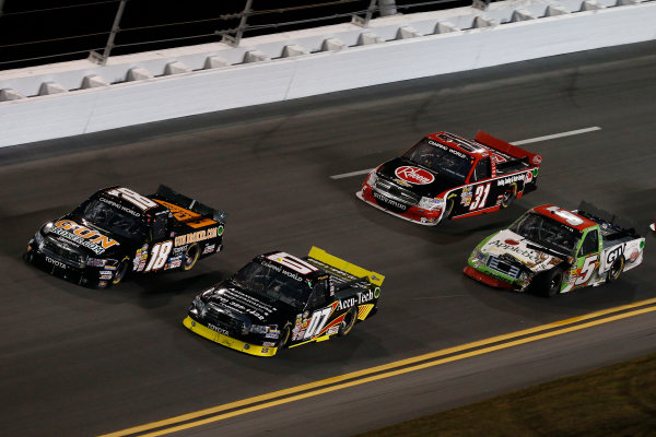 21-23 February, 2013, Daytona Beach, Florida, USA Subject:  Joey Coulter, Chris Cockrum, James Buescher and Tim George Jr .(c) 2013, Michael L. Levitt LAT Photo USA