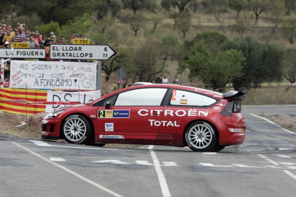FIA World Rally Championship 2007Round 12Rally of Spain, Catalunya.4th - 7th October 2007Daniel Sordo, Citroen, action.Worldwide Copyright: McKlein/LAT