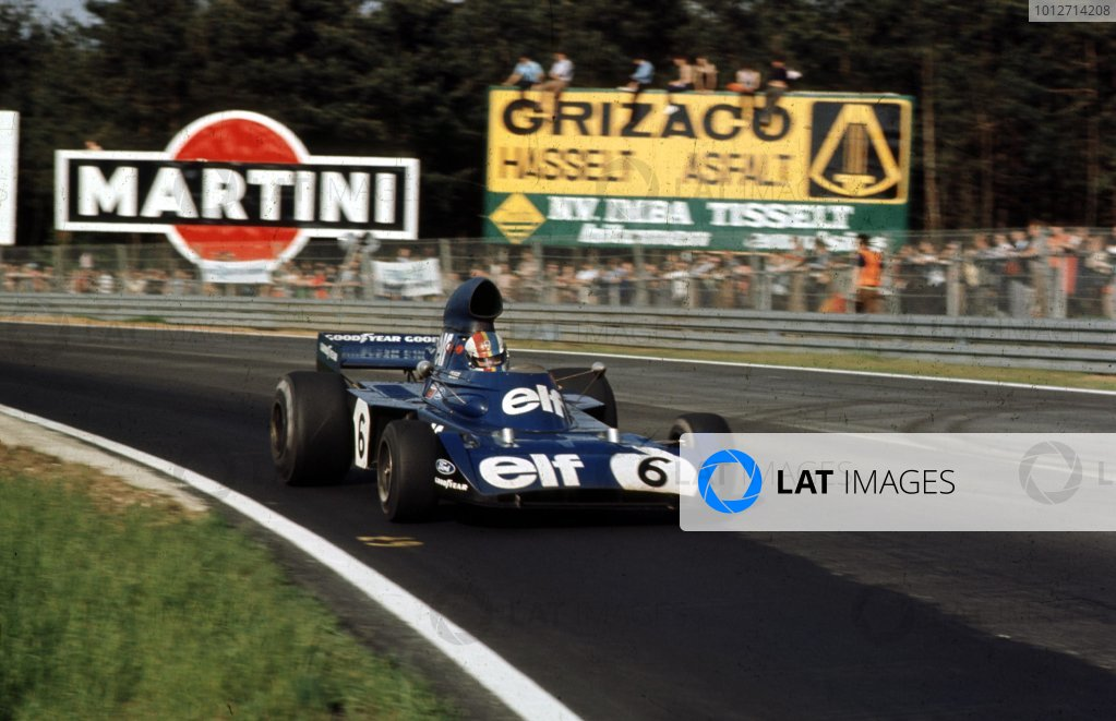 1973 Belgian Grand Prix.Zolder, Belgium.18-20 May 1973.Francois Cevert (Tyrrell 006 Ford) 2nd position.Ref-73 BEL 29.World Copyright - LAT Photographic