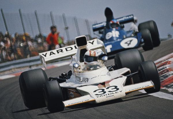 Mike Hailwood, McLaren M23 Ford.