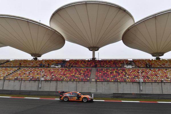John Shen (HKG) Modena Motorsports at Porsche Carrera Cup Asia, Shanghai, China, 13-15 April 2018.