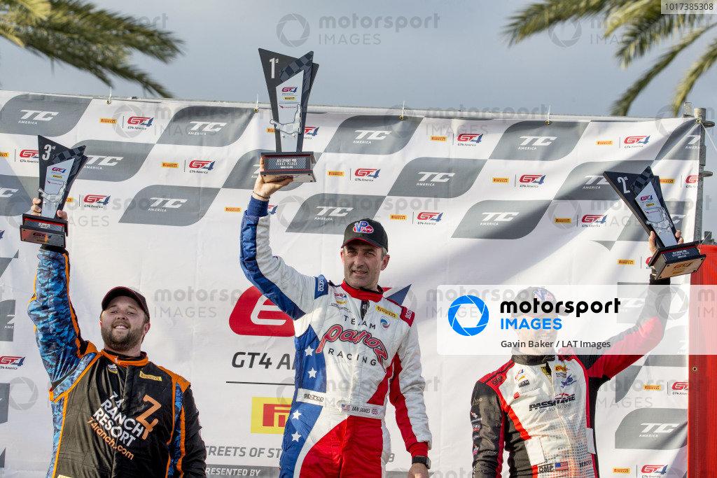 Ian James, Team Panoz Racing Panoz Avezzano GT4, Podium GT4 race 1