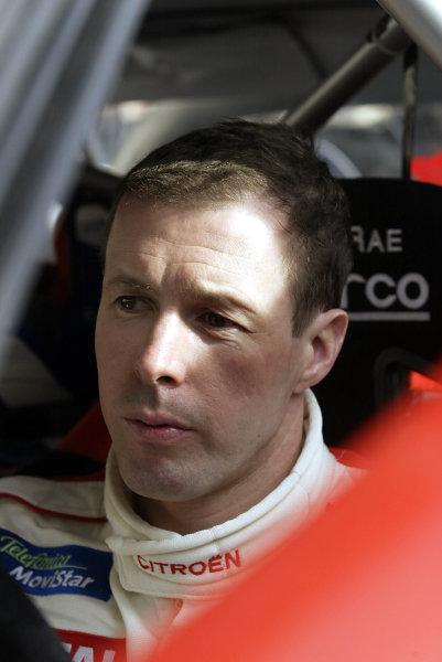2003 FIA World Rally Championship. Monte Carlo, Monaco. Rd1.23-26 January 2003.Colin McRae (Citroen) 2nd position. World Copyright: McKlein/LAT Photographic
