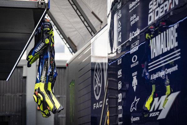 Valentino Rossi, Yamaha Factory Racing leathers