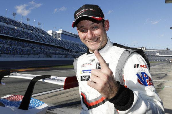 Pole winner #911 Porsche GT Team Porsche 911 RSR, GTLM:  Nick Tandy
