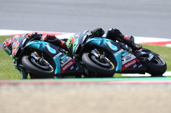 Fabio Quartararo, Petronas Yamaha SRT & Franco Morbidelli, Petronas Yamaha SRT MotoGP.
