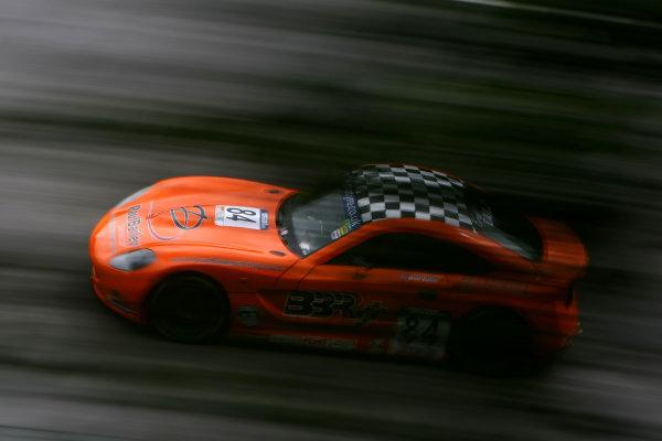 2014 Ginetta GT5 Challenge, Spa Francorchamps, Belgium. 11th - 12th July 2014. Brad Bailey (GBR) Ginetta G40. World Copyright: Ebrey / LAT Photographic.