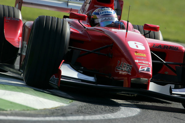 2005 GP2 Series - ImolaAutodromo Enzo e Dino Ferrari, Italy. 21st - 24th April.Friday PracticeHiro Yoshimoto (J, BCN Competicion). Action.Photo: GP2 Series Media Serviceref: Digital Image Only.