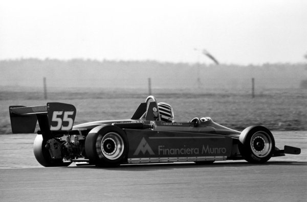 Enrique Mansilla (ARG), West Surrey Engineering Ralt RT3, finished third.
