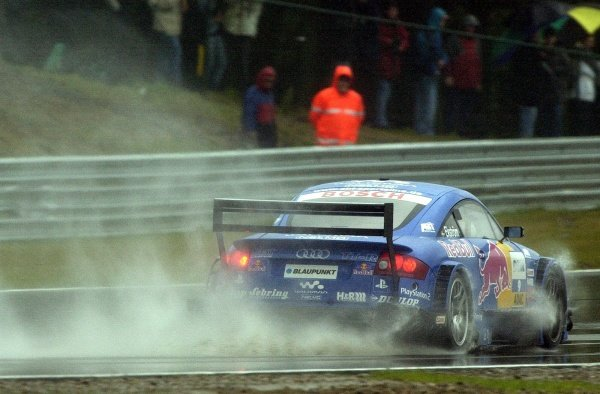 Mattias Ekstrom (SWE) Abt Sportsline Audi TT-R.