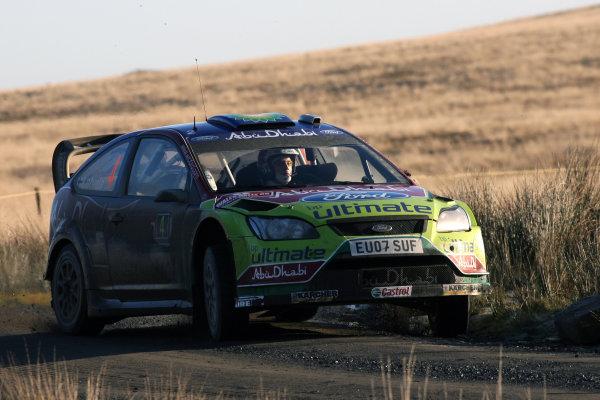 Round 15, Wales Rally GB, 4th-7th December 2008Jari Matti Latvala, Ford, ActionWorldwide Copyright: McKlein/LAT