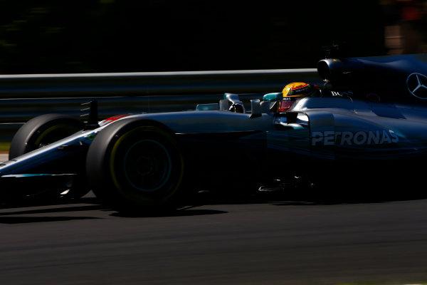 Hungaroring, Budapest, Hungary.  Saturday 29 July 2017. Lewis Hamilton, Mercedes F1 W08 EQ Power+.  World Copyright: Andy Hone/LAT Images  ref: Digital Image _ONY0984