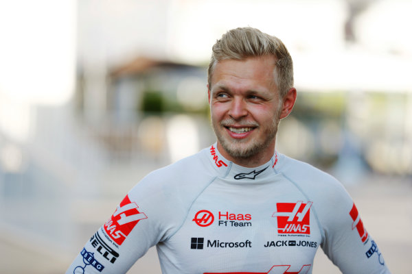Baku City Circuit, Baku, Azerbaijan. Saturday 24 June 2017. Kevin Magnussen, Haas F1.  World Copyright: Steven Tee/LAT Images ref: Digital Image _R3I3415