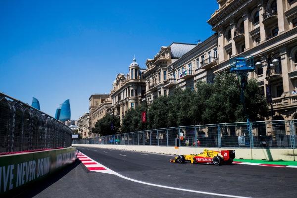 2017 FIA Formula 2 Round 4. Baku City Circuit, Baku, Azerbaijan. Friday 23 June 2017. Sean Gelael (INA, Pertamina Arden)  Photo: Zak Mauger/FIA Formula 2. ref: Digital Image _54I9348
