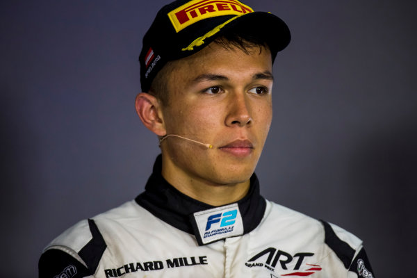 2017 FIA Formula 2 Round 5. Red Bull Ring, Spielberg, Austria. Sunday 9 July 2017. Alexander Albon (THA, ART Grand Prix).  Photo: Zak Mauger/FIA Formula 2. ref: Digital Image _56I4519