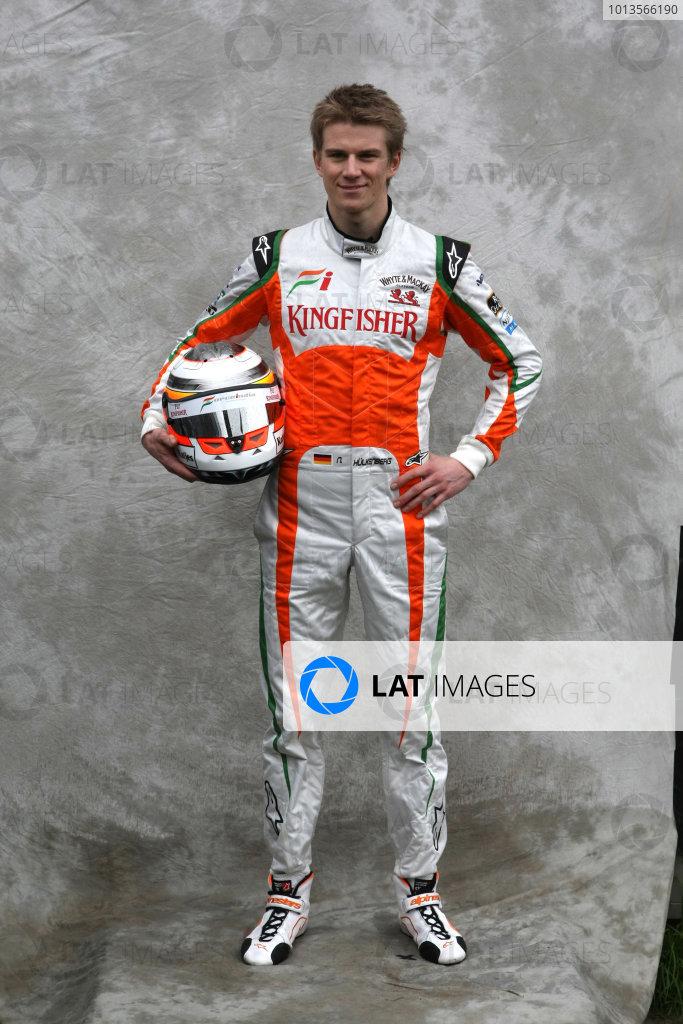 Albert Park, Melbourne, Australia24th March 2011.Nico Hulkenberg, Force India VJM04 Mercedes. World Copyright: LAT Photographicref: Digital Image2_LC1255