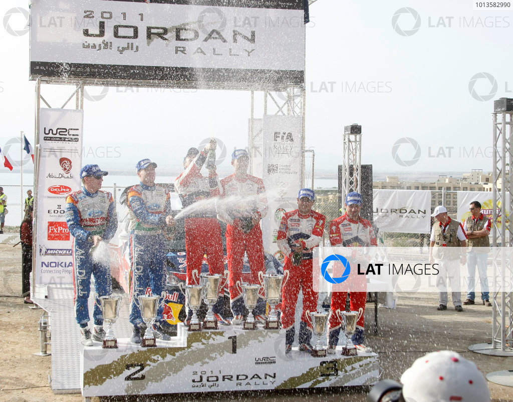 Round 04 Rally Jordan. 14th-16th April 2011.