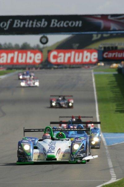 Jean-Christophe Boullion (FRA) Pescarolo Sport Pescarolo C60 Judd won the race.Le Mans Series, Rd4, Donington Park, England, 28 August 2006.DIGITAL IMAGE
