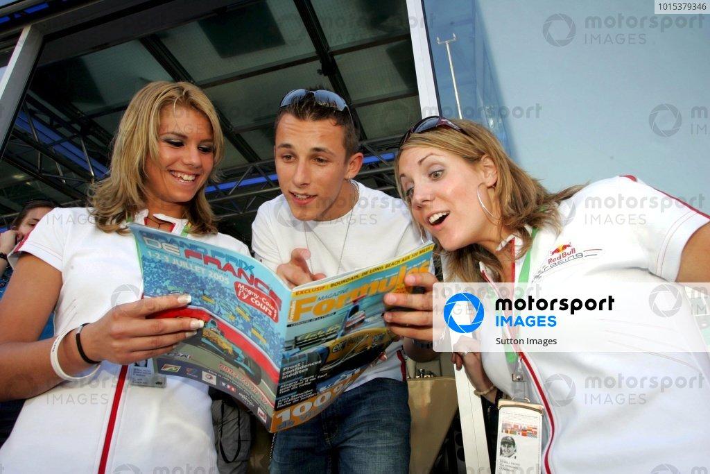 Christian Klien (AUT) Red Bull Racing.Formula One World Championship, Rd5, Spanish Grand Prix, Practice Day, Barcelona, Spain, 6 May 2005.DIGITAL IMAGEBEST IMAGE