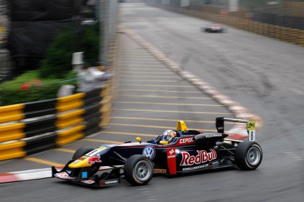 2012 Macau Grand Prix. Circuit de Guia, Macau. 15th - 18th November 2012. Carlos Sainz Jr (ESP) Carlin Dallara Volkswagen. World Copyright: Ebrey/LAT Photographic.