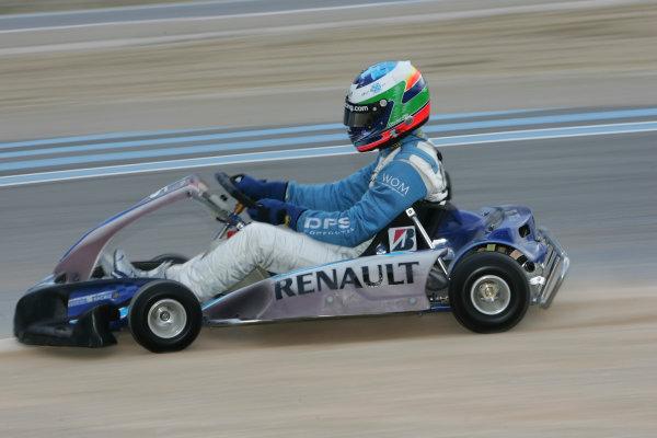 2005 GP2 Karting Challenge13th June 2005Olivier Pla (F, DPR). Action. Circuit Paul Ricard, FranceWorld Copyright: GP2 SeriesDigital Image Only