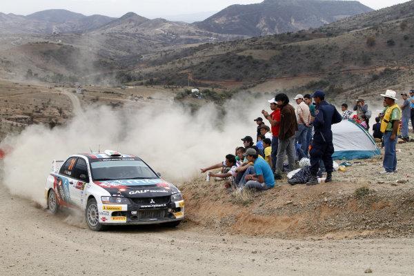2010 FIA World Rally ChampionshipRound 02Rally Mexico 4-7 Mars 2010Armando Araujo, Mitsubishi PWRC, ActionWorldwide Copyright: McKlein/LAT