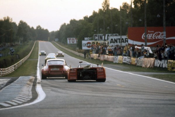 1973 Le Mans 24 hours.Le Mans, France. 9-10 June 1973.Bernard Cheneviere/Juan Fernandez/Francisco Torredemer (Porsche 908/03), 5th position.World Copyright: LAT PhotographicRef: 35mm transparency 73LM05