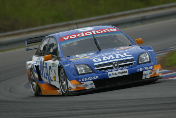 2005 DTM (German Touring Car) ChampionshipBrno, Czech Republic 4-5th June 2005 Marcel Fassler (Opel Vecrta GTS V8) World Copyright: Andrew Ferraro/LAT Photographic Ref: Digital Image Only.