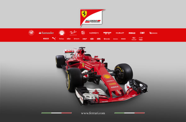 Ferrari SF70H Launch Images. Maranello, Italy. Friday, 24 February, 2017. Photo: Copyright Free Ferrari. Editorial use only. Ref: 170008_SF70H