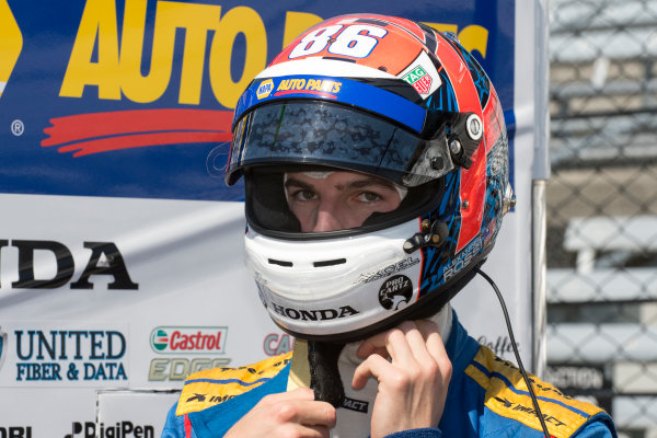 Verizon IndyCar Series Indianapolis 500 Practice Indianapolis Motor Speedway, Indianapolis, IN USA Monday 15 May 2017 Alexander Rossi, Andretti Herta Autosport with Curb-Agajanian Honda World Copyright: Geoffrey M. Miller LAT Images