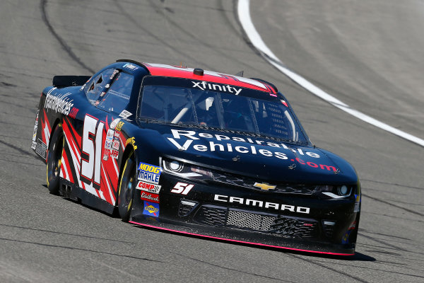 2017 NASCAR Xfinity Series Service King 300 Auto Club Speedway, Fontana, CA USA Friday 24 March 2017 Jeremy Clements World Copyright: Russell LaBounty/LAT Images ref: Digital Image 17FON1rl_1299
