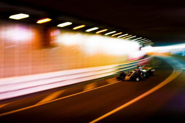 Monte Carlo, Monaco. Thursday 25 May 2017. Romain Grosjean, Haas VF-17. World Copyright: Andy Hone/LAT Images ref: Digital Image _ONY8272