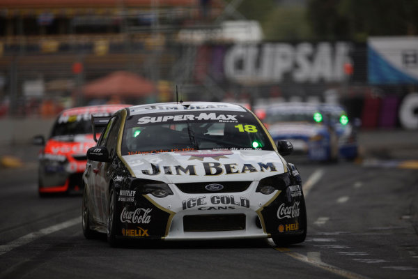 Clipsal 500, Adelaide Street Circuit.Australia. 19th - 22nd March 2009James Courtney of Dick Johnson Racing during the Clipsal 500, Event 01 of the Australian V8 Supercar Championship Series at the Adelaide Street Circuit, Adelaide, South Australia, March 21, 2009.World Copyright: Mark Horsburgh/LAT Photographicref: Digital Image V8_Clipsal500_092411