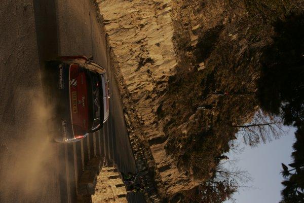 2005 FIA World Rally ChampionshipRound 1, Monte Carlo Rally. 20th - 23rd January 2005.Sebastien Loeb (Citroen Xsara WRC), action.World Copyright: McKlein/LAT Photographic.ref: Digital image.