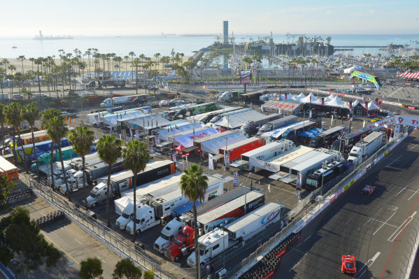 11-12 April, 2014, Long Beach, California USA IMSA paddock ©2014, Dan R. Boyd Lat Photo USA