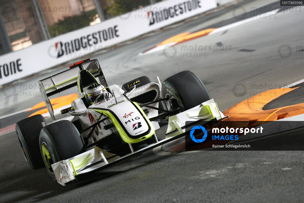 Jenson Button, Brawn BGP 001 Mercedes.